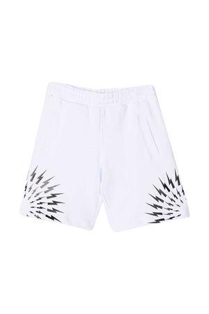 Neil Barrett Kids teen white shorts NEIL BARRETT KIDS | 5 | 027891001T