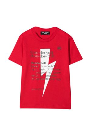 T-shirt rossa Neil Barrett Kids NEIL BARRETT KIDS | 8 | 027896040