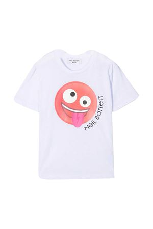 T-shirt bianca Neil Barrett Kids NEIL BARRETT KIDS | 8 | 027900001