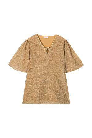 Oseree Kids gold glitter dress OSEREE KIDS | 7 | LVF202GGOLD