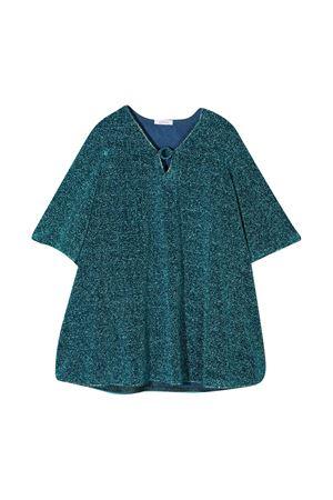 Oseree Kids blue glitter dress OSEREE KIDS | 7 | LVF202GOCEANBLUE