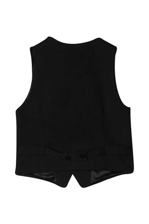 Single-breasted teen vest with V-neck Paolo Pecora kids Paolo Pecora kids | 38 | PP2568NEROT
