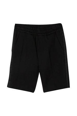 Paolo Pecora Kids teen black shorts Paolo Pecora kids | 5 | PP2576NEROT