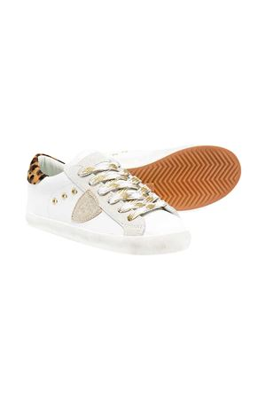 Sneakers con applicazione Philippe Model kids PHILIPPE MODEL KIDS | 90000020 | CLL0XL1B
