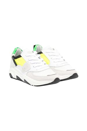 Sneakers with Philippe Model kids color-block design PHILIPPE MODEL KIDS | 90000020 | EZL0WP1A