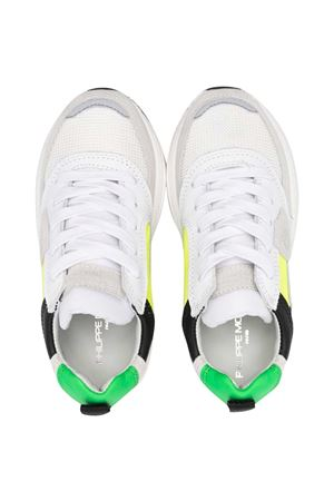 Sneakers with Philippe Model kids color-block design PHILIPPE MODEL KIDS | 90000020 | EZL0WP1B