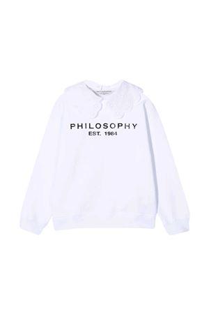 Sweatshirt with Philosophy kids print PHILOSOPHY KIDS | -108764232 | PJFE52FE144WH004B003