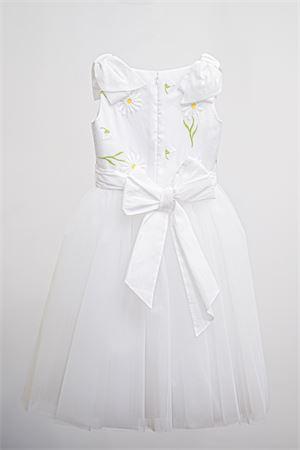 Abito bianco modello Botticelli con tulle e applicazioni Raffaella RAFFAELLA | 11 | BOTTICELLI601
