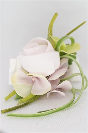 Bracciale con fiori applicati Raffaella RAFFAELLA | 36 | BRACCIALE01