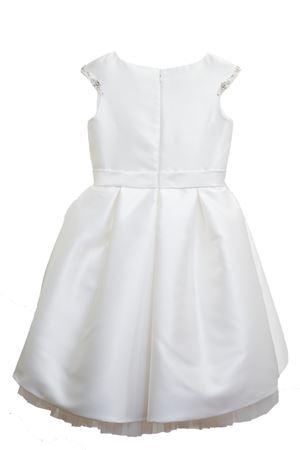 Abito bianco modello Dalì con fiocco Raffaella RAFFAELLA | 11 | DALI12C/FIOCCO01