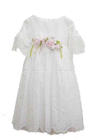 Abito bianco modello Modigliani con applicazioni Raffaella RAFFAELLA | 11 | MODIGLIANI301