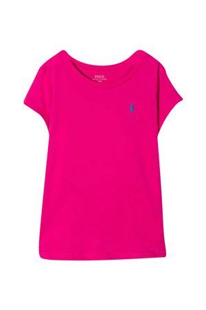 Fuchsia Ralph Lauren kids t-shirt  RALPH LAUREN KIDS | 8 | 312833549005