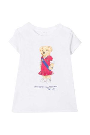White T-shirt Ralph Lauren Kids  RALPH LAUREN KIDS | 8 | 312838265001