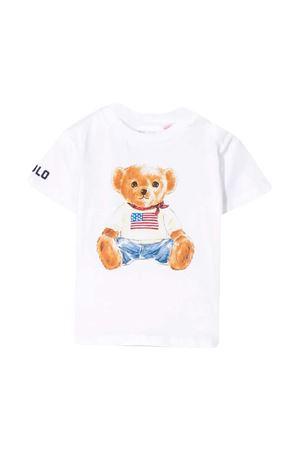 White t-shirt with Ralph Lauren kids press RALPH LAUREN KIDS | 8 | 320746618001