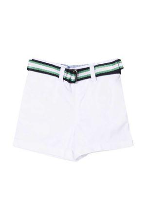 Shorts bianchi Ralph Lauren kids con cintura RALPH LAUREN KIDS | 30 | 320832061003