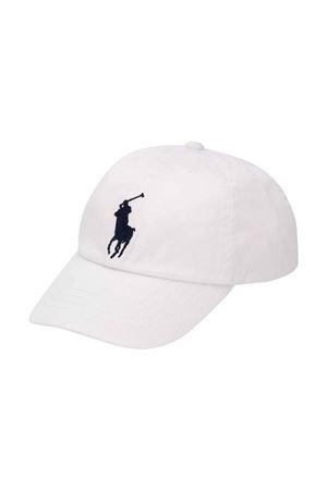 Cappello bianco Ralph Lauren Kids RALPH LAUREN KIDS | 75988881 | 321785654005