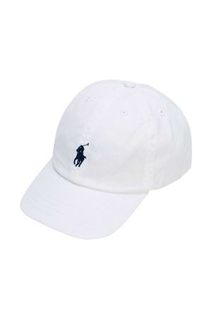 White Ralph Lauren Kids hat  RALPH LAUREN KIDS | 75988881 | 322552489001