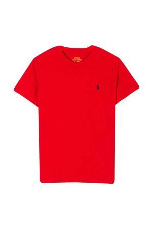 T-shirt rossa Ralph Lauren Kids RALPH LAUREN KIDS   8   322674984004