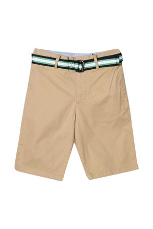 Khaki bermuda shorts Ralph Lauren kids with belt RALPH LAUREN KIDS | 30 | 322832061002