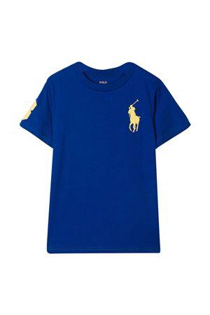 T-shirt blu royal Ralph Lauren Kids RALPH LAUREN KIDS   8   322832907009