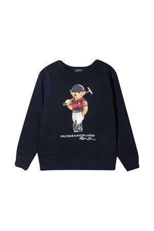 Felpa blu Ralph Lauren Kids RALPH LAUREN KIDS | -108764232 | 322836596001