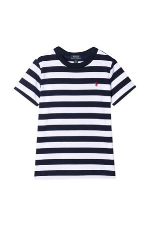 T-shirt a righe Ralph Lauren Kids RALPH LAUREN KIDS | 8 | 322836701001