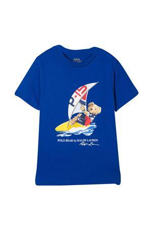 T-shirt blu Ralph Lauren Kids RALPH LAUREN KIDS | 8 | 322838249002