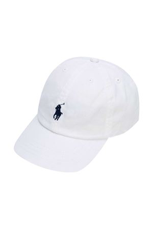White Ralph Lauren Kids hat  RALPH LAUREN KIDS | 75988881 | 323552489001