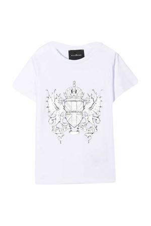 T-shirt teen con stampa Richmond RICHMOND | 8 | RBP21047TST6WHITET