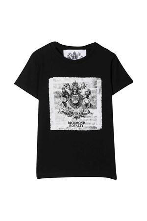 T-shirt teen con stampa Richmond RICHMOND | 8 | RBP21105TST6BLACKT