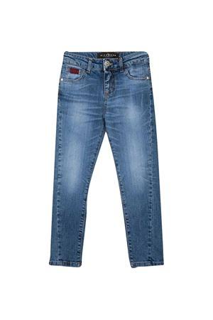 Jeans teen dritti con stampa Richmond RICHMOND | 9 | RBP21143JEMNBLUEMEDT
