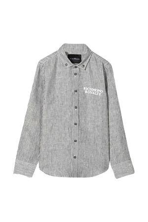 Camicia teen con stampa Richmond RICHMOND | 5032334 | RBP21185CAHBICE/WHITET