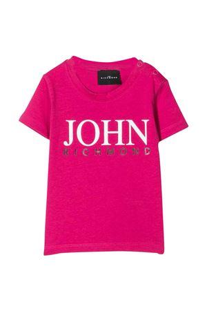 Richmond print T-shirt RICHMOND | 8 | RIP21023TSG9FUXIA