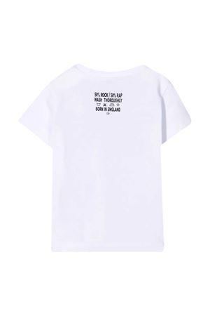 T-shirt bianca con stampa Richmond RICHMOND | 8 | RIP21039TSG9WHITE/BLK