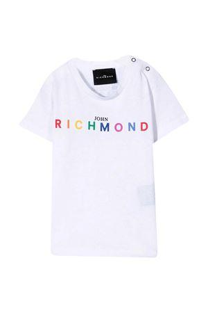 T-shirt con stampa Richmond RICHMOND | 8 | RIP21046TSG9WHITE