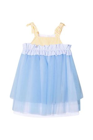 Light blue and white dress Simonetta Simonetta   11   1O1172OB720600