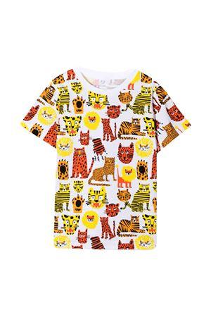 Wild cats t-shirt with Stella McCartney Kids print STELLA MCCARTNEY KIDS | 8 | 602241SQJ16H919