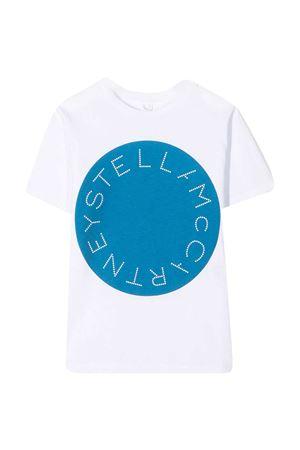T-shirt bianca teen Stella McCartney kids STELLA MCCARTNEY KIDS   8   602241SQJ539000T