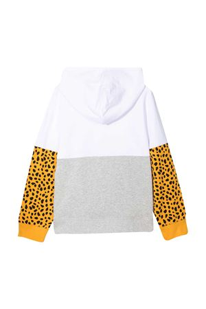 Felpa bianca con stampa animalier Stella McCartney kids STELLA MCCARTNEY KIDS | -108764232 | 602249SQJ269000