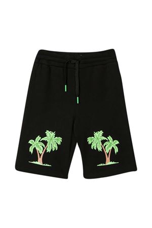 Stella McCartney Kids black bermuda shorts STELLA MCCARTNEY KIDS | 30 | 602258SQJ621000