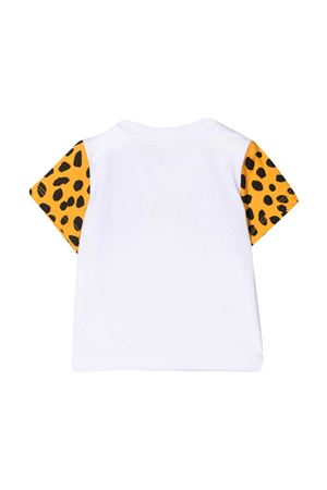 White t-shirt with animalier print Stella McCartney kids STELLA MCCARTNEY KIDS | 8 | 602270SQJ229000