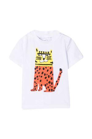 White t-shirt Stella McCartney Kids  STELLA MCCARTNEY KIDS | 8 | 602270SQJ249000