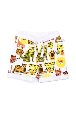 White shorts with multicolor print Stella McCartney kids STELLA MCCARTNEY KIDS | 30 | 602291SQJ17H919