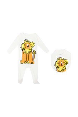 Set tutina e bavetta con stampa Stella McCartney kids STELLA MCCARTNEY KIDS | 75988882 | 602293SQJ119100
