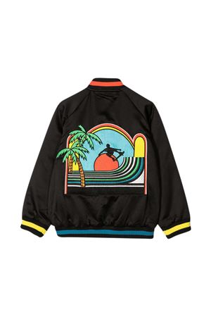 Black teen jacket Stella McCartney Kids  STELLA MCCARTNEY KIDS | 13 | 602332SQK231000T