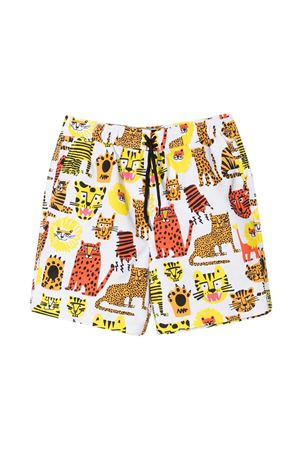 White bermuda shorts Stella McCartney Kids  STELLA MCCARTNEY KIDS | 30 | 602342SQK34H919