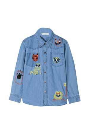 Camicia blu Stella McCartney Kids STELLA MCCARTNEY KIDS | 5032334 | 602348SQK164054