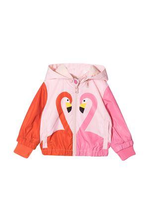 Pink lightweight jacket with print Stella McCartney kids STELLA MCCARTNEY KIDS | 13 | 602556SQKD76840
