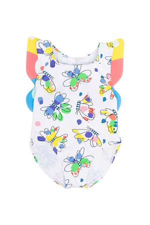 White swimsuit with multicolor print Stella McCartney kids STELLA MCCARTNEY KIDS | 85 | 602567SQK70H910