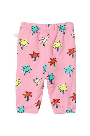 Pantalone rosa con stampa multicolor Stella McCartney kids STELLA MCCARTNEY KIDS | 9 | 602587SQJE4H504